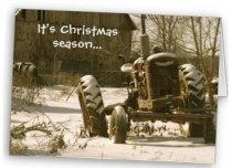Farmall Christmas Card