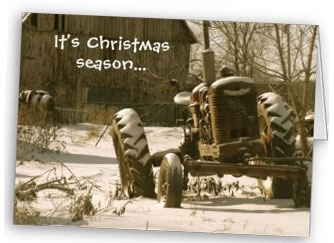Farmall Christmas Card