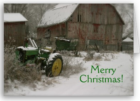 John Deere Christmas Card